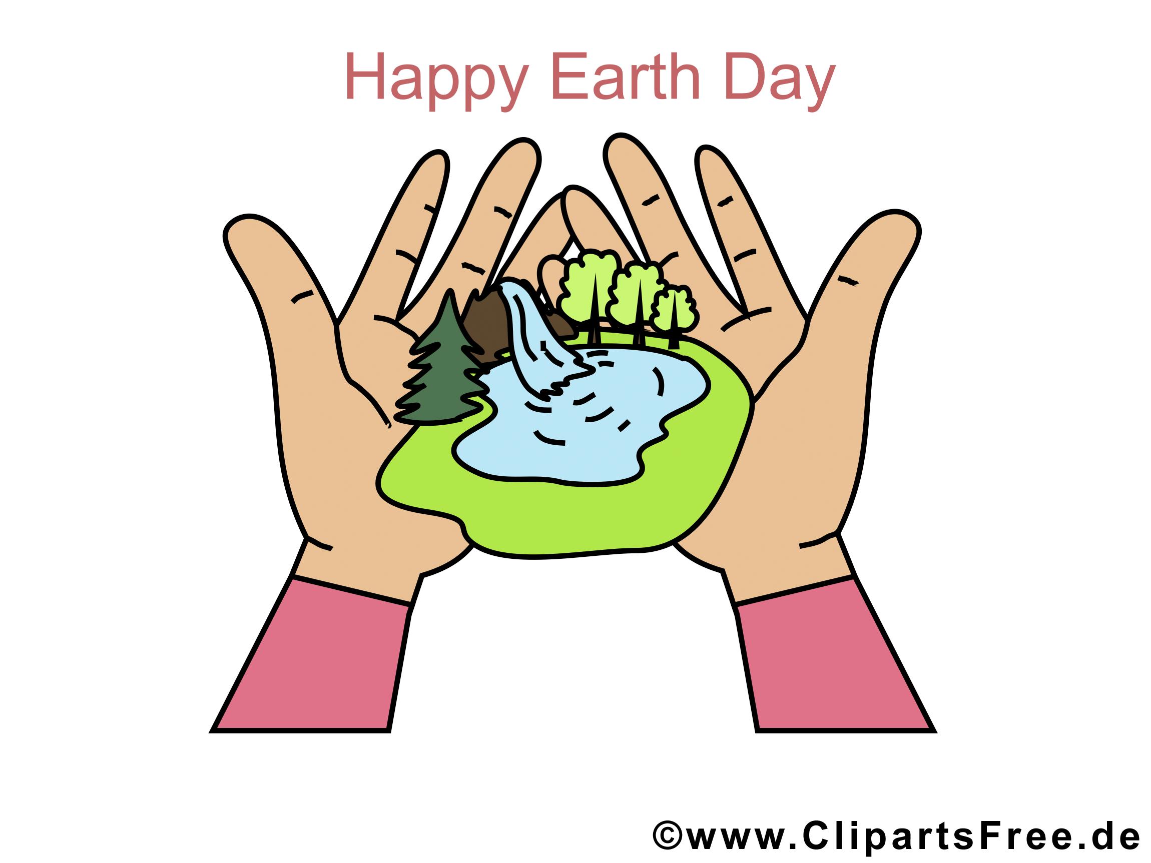 Postcard zum Tag der Erde
