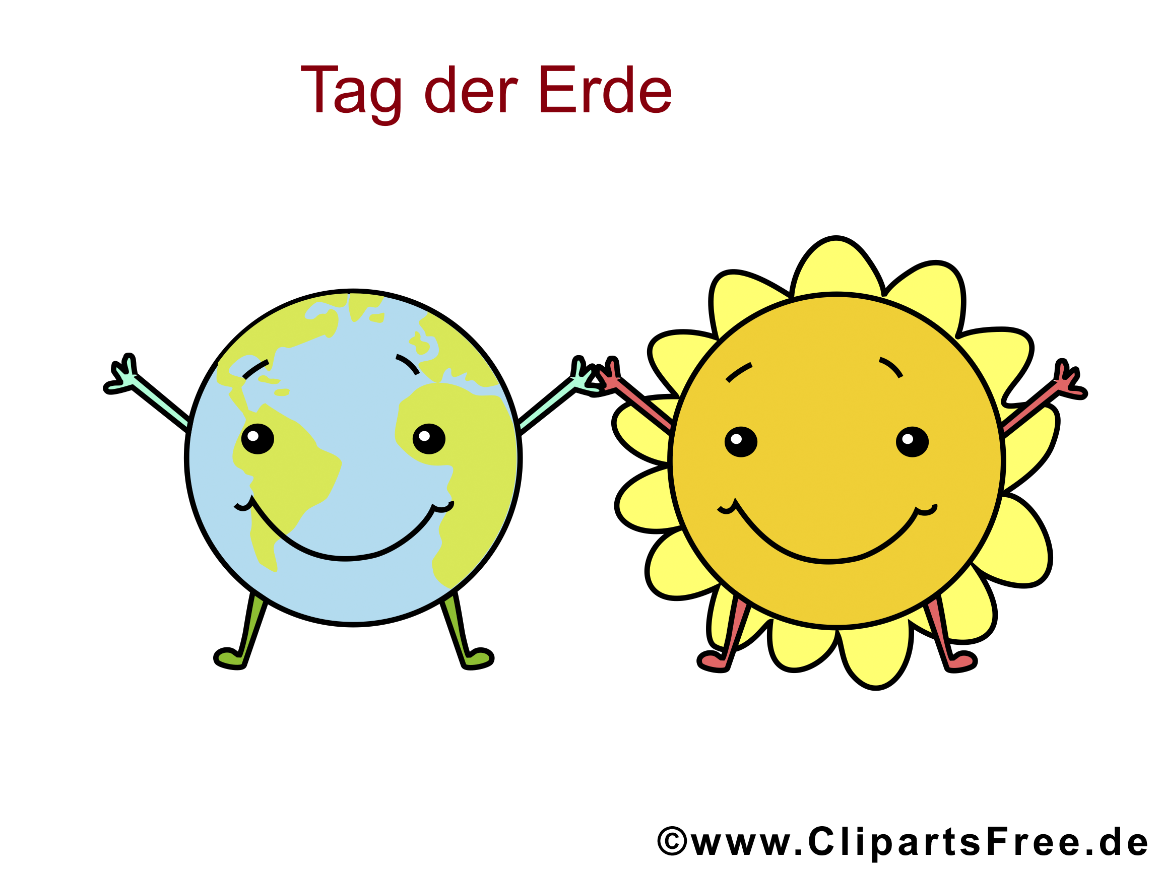Tag der Erde Clipart, Bild, Illustration, Cartoon, GB Bild