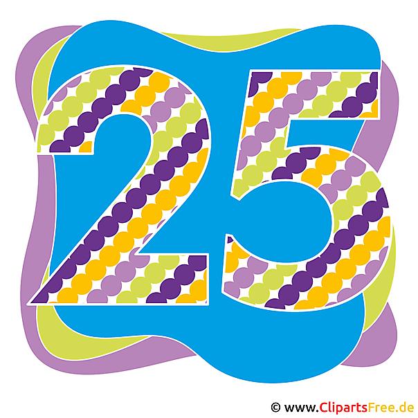 25 jahre jubileum bilder - Geburtstagsbilder zum 25 ...