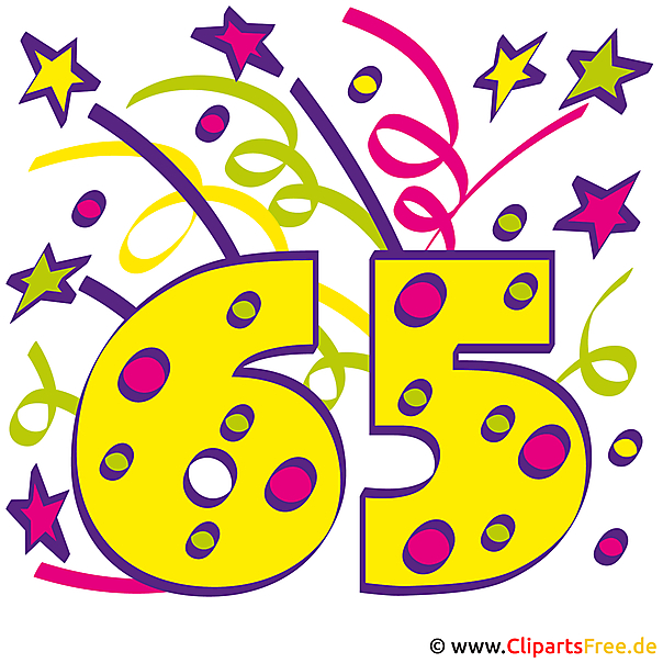 The Big Red Number 66 With Happy Birthday In Colorful Letters