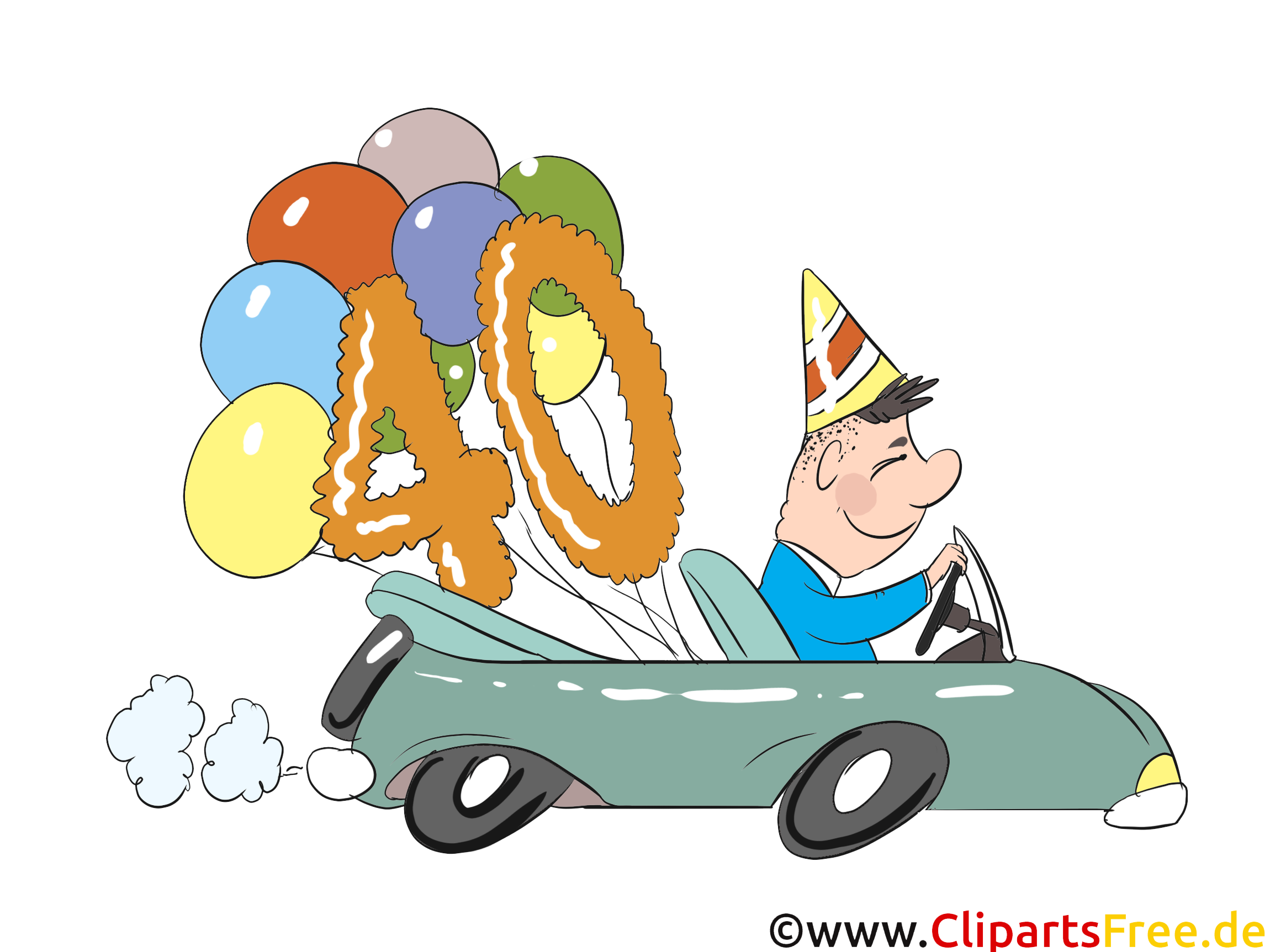 カード、感謝祭、招待状、グリーティングカード - 誕生日は40の誕生日に面白い願い
