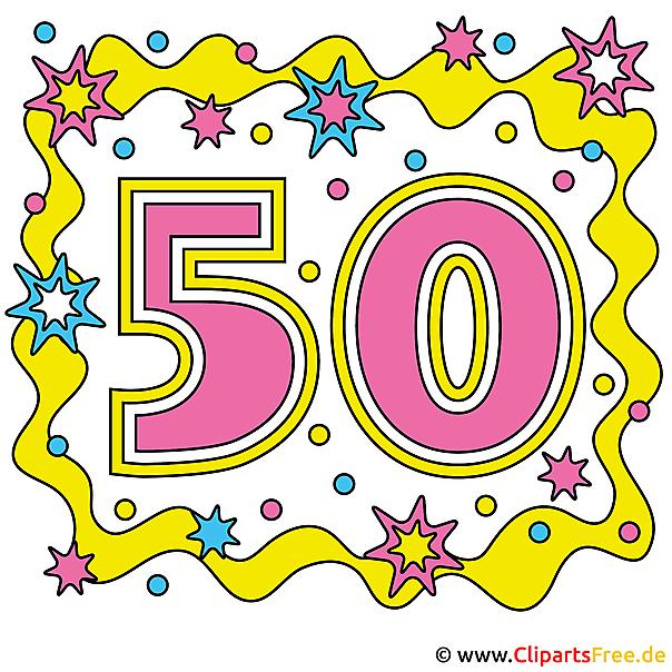 周年記念50  - 無料のベクターアート画像