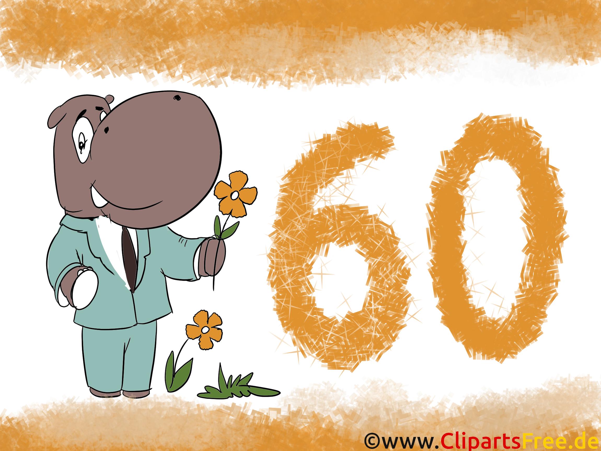 Gratis geburtstagswunsche zum 60