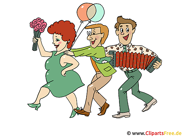Karneval Party Einladung Clipart