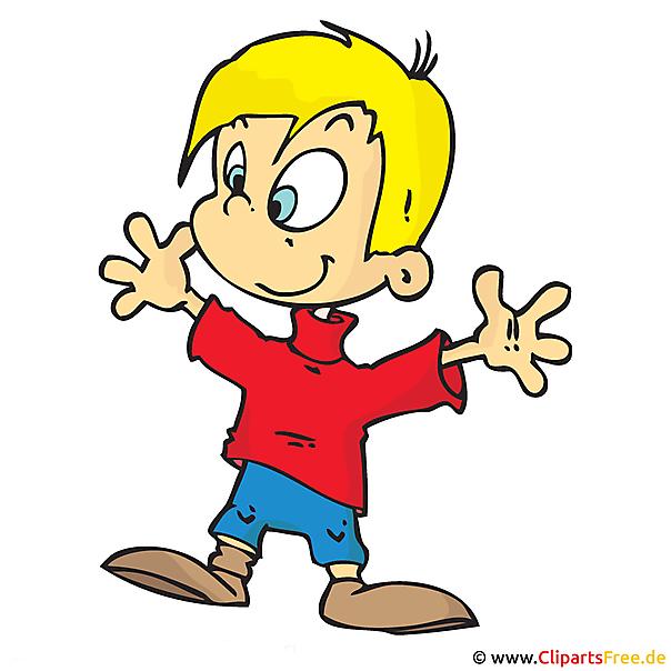Kind Clipart, afbeelding, cartoon, grafisch, illustratie