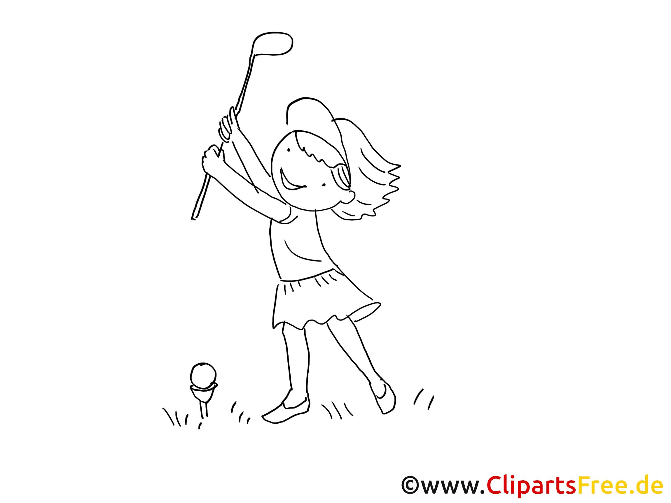 Speel zwart en wit met golf