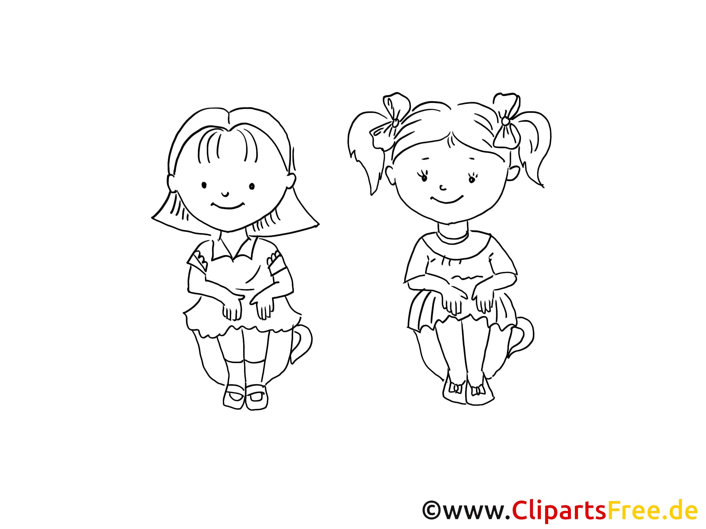 Kinder sitzen im kreis clipart  Kinder sitzen auf Toepfchen Zeichnung, Bild schwarz-weiss, Clipart ...