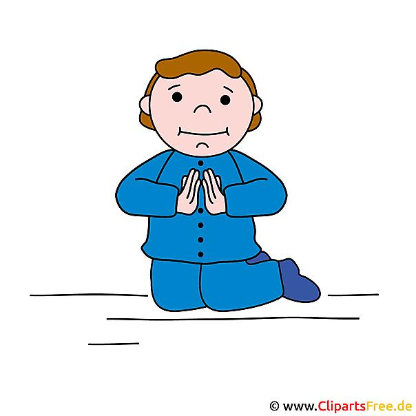 Gebet Clipart Bild Karten Zur Kommunion Selbst Gestalten