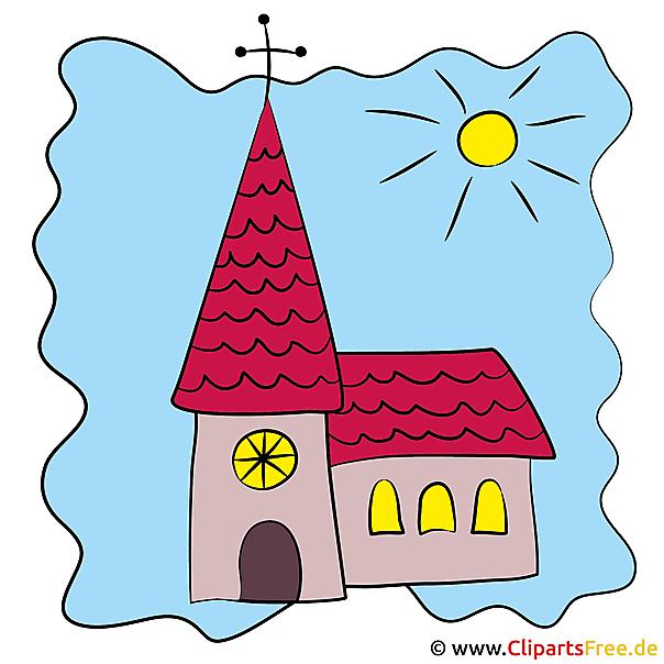 Kirche Cartoon