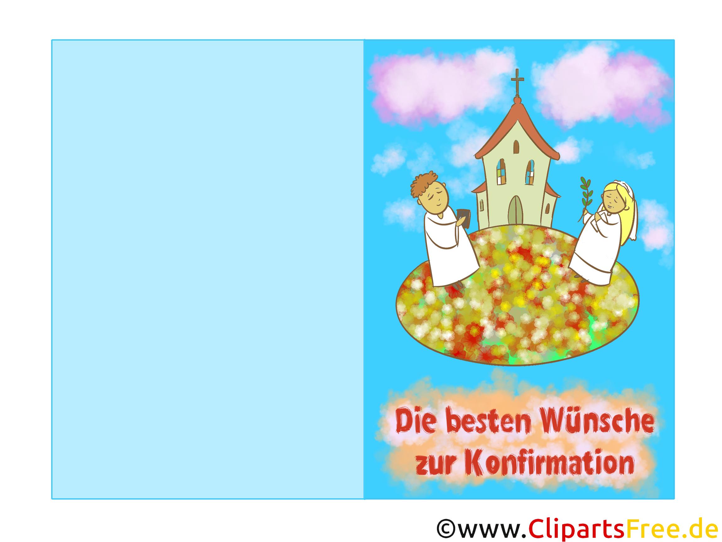 Zenyczenia po niemiecku na konfirmacja