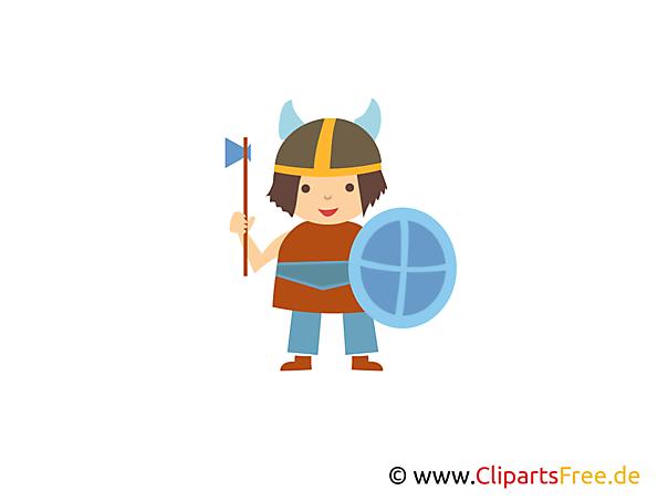 Gratis Viking helm clipart
