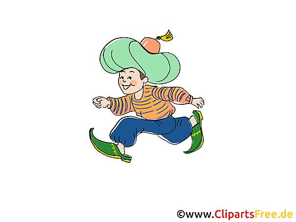 Verhaal van Little Muck Fairy Tale Picture, Illustration, Cartoon