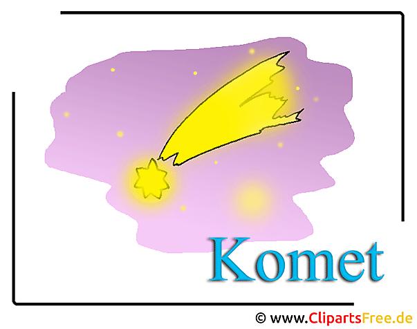 Comet-afbeelding clip art gratis