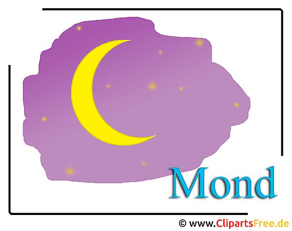 Mond Clipart-Bild free