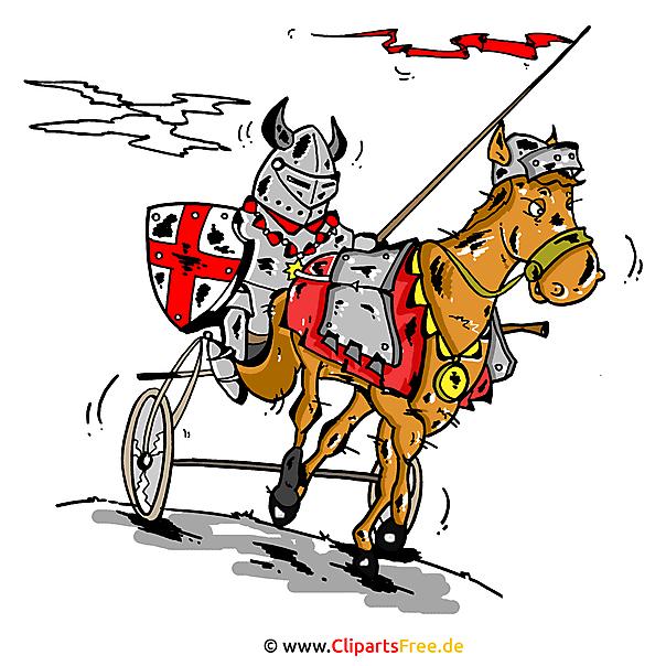 Ridder Clipart, afbeelding, cartoon, grafisch, illustratie