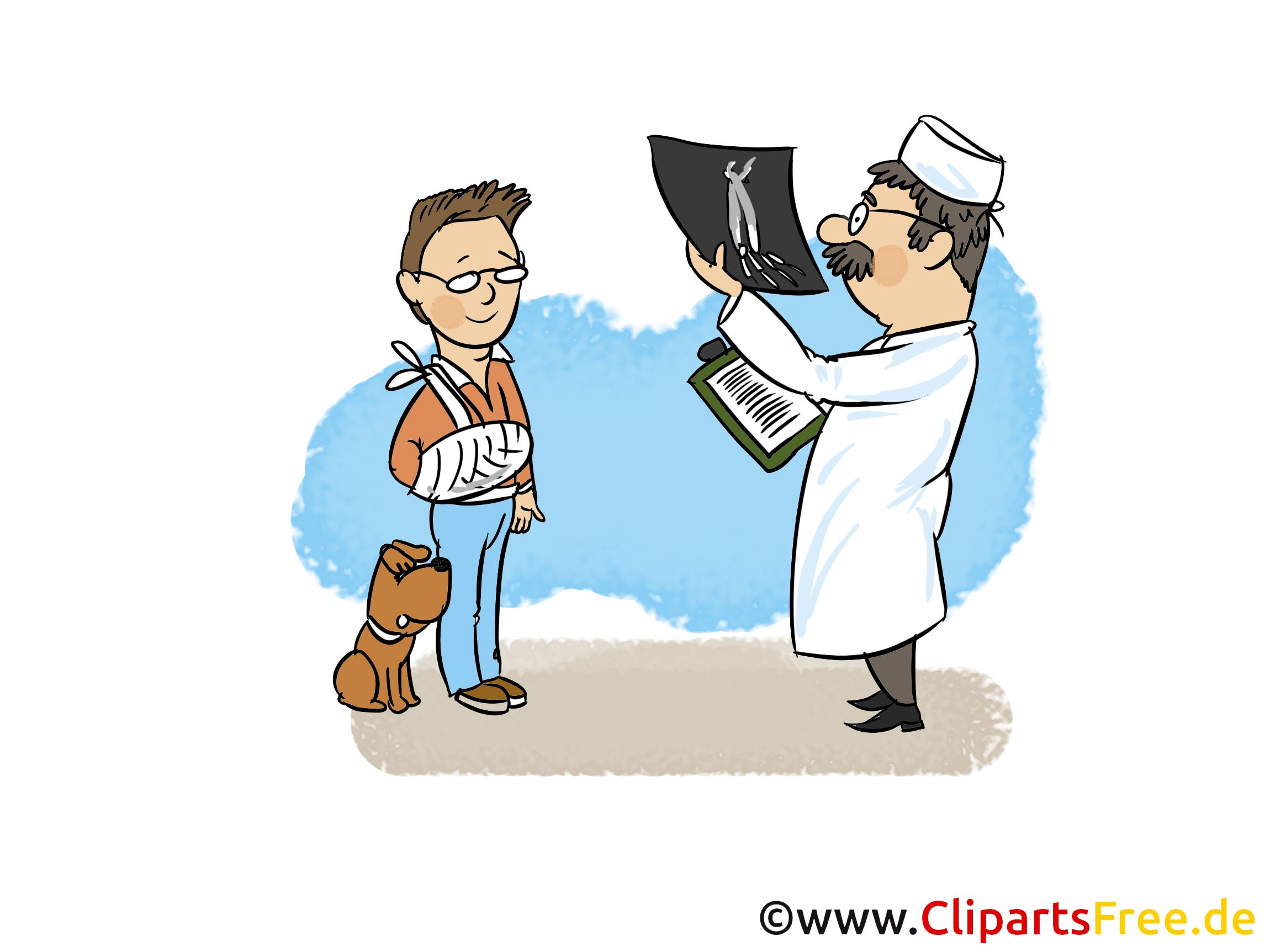 Röntgen-Bilder Clipart, Bild, Cartoon