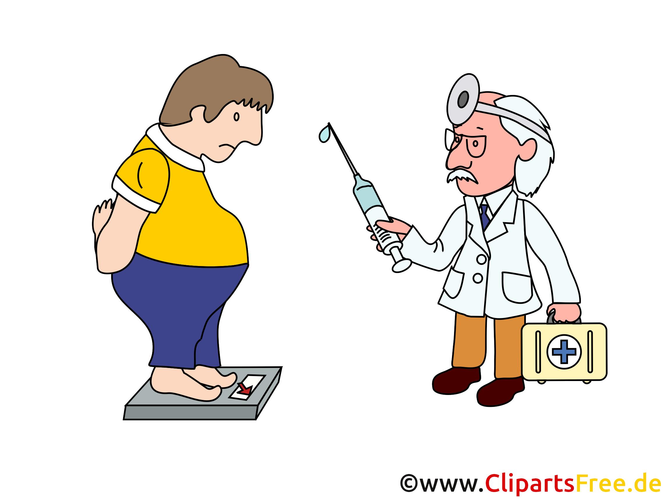 Übergewicht Cliparts, Bilder, Grafiken