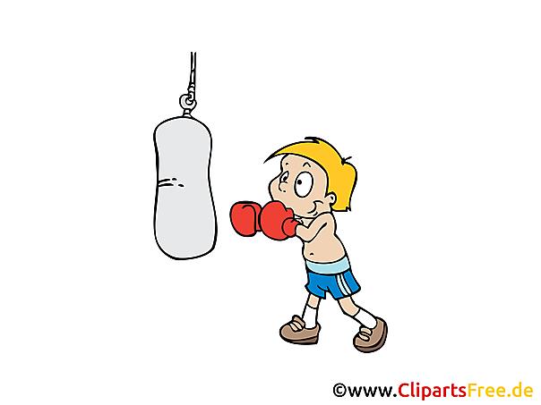 Bildtitel: Boxer Bild, Clipart, Illustration, Grafik, Zeichnung ...