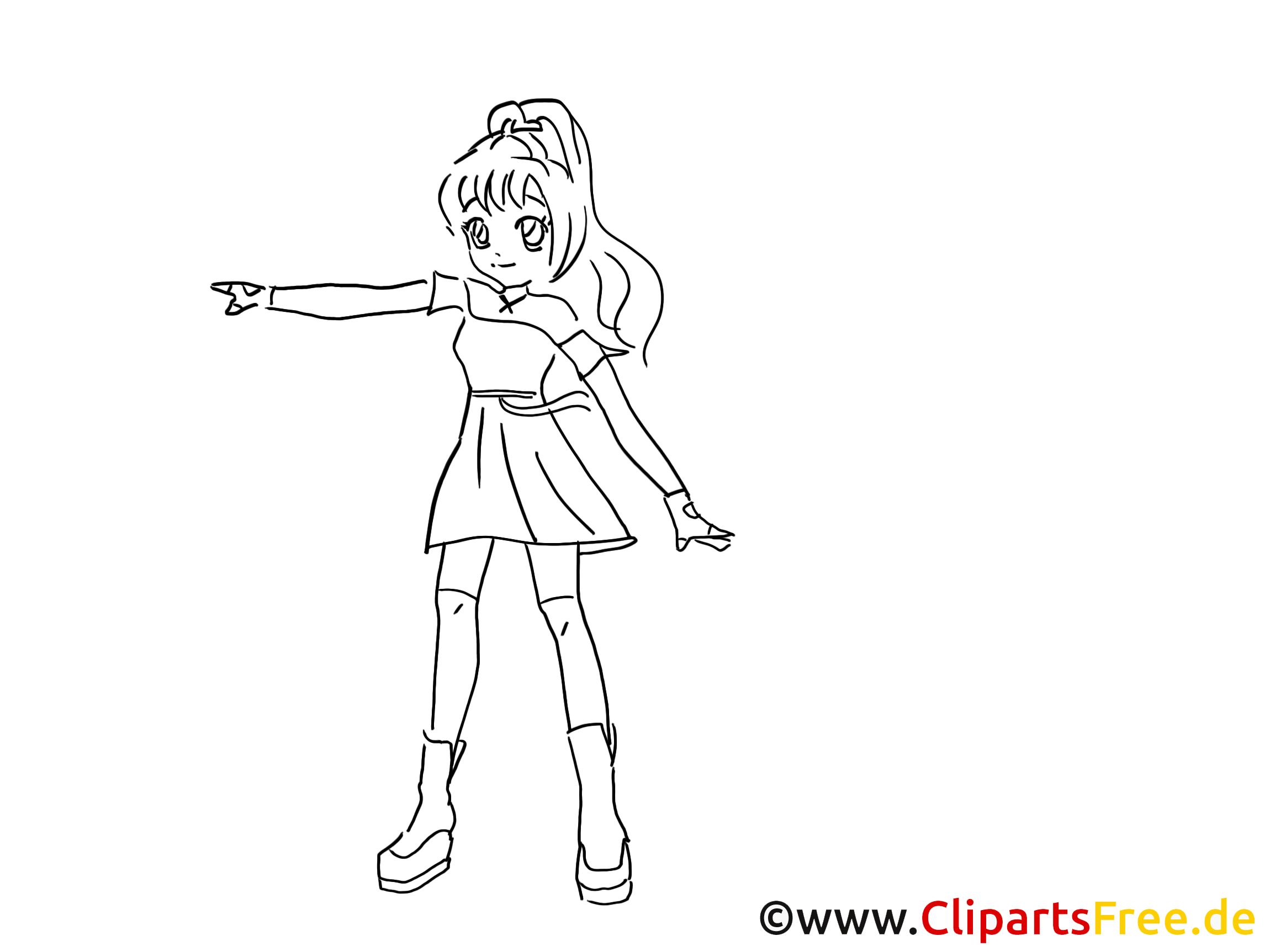 24 Ausmalbilder Anime Mädchen - Besten Bilder von ausmalbilder