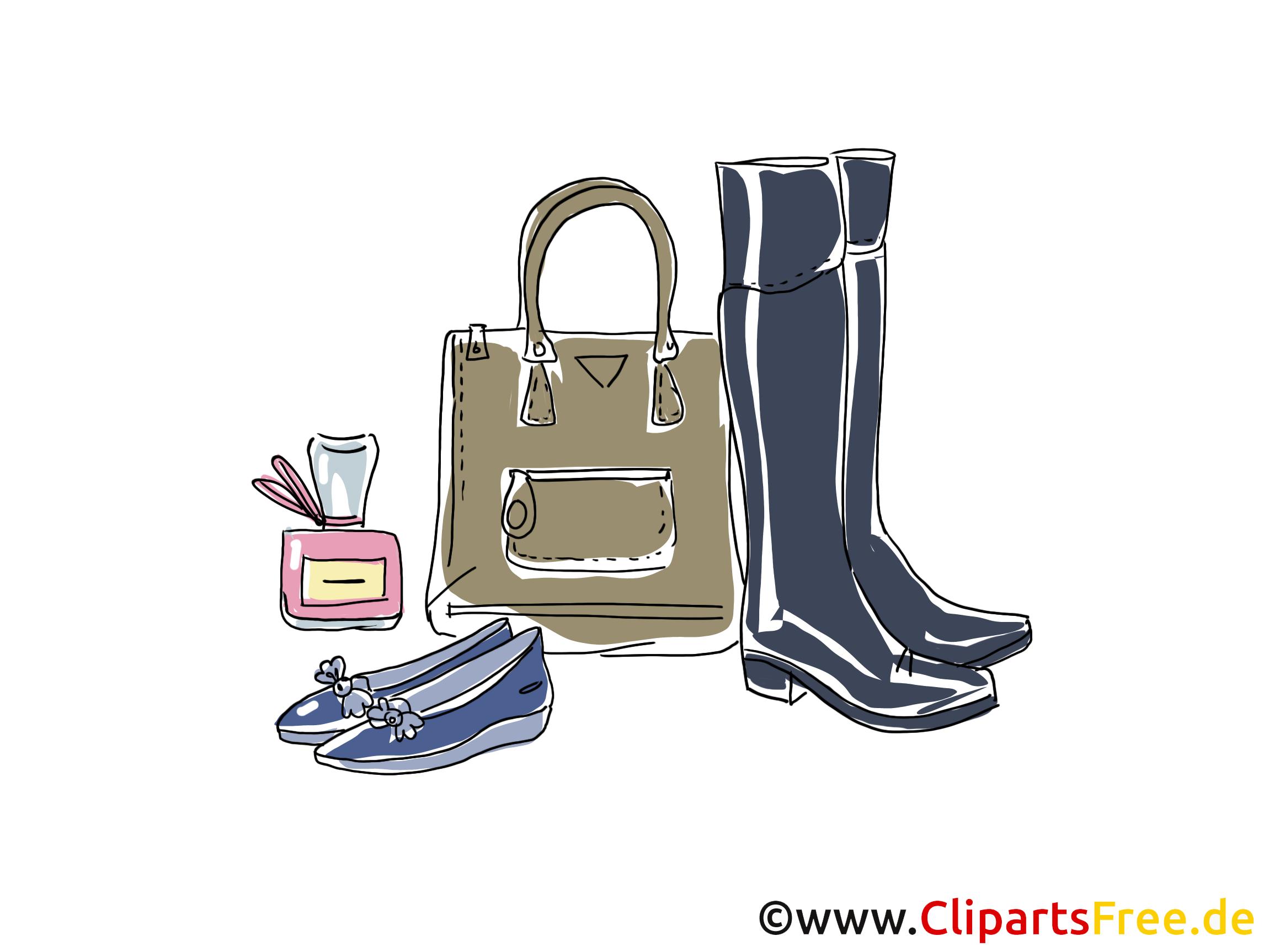 Lederwaren Clipart, Bild, Illustration, Grafik,  Image kostenlos