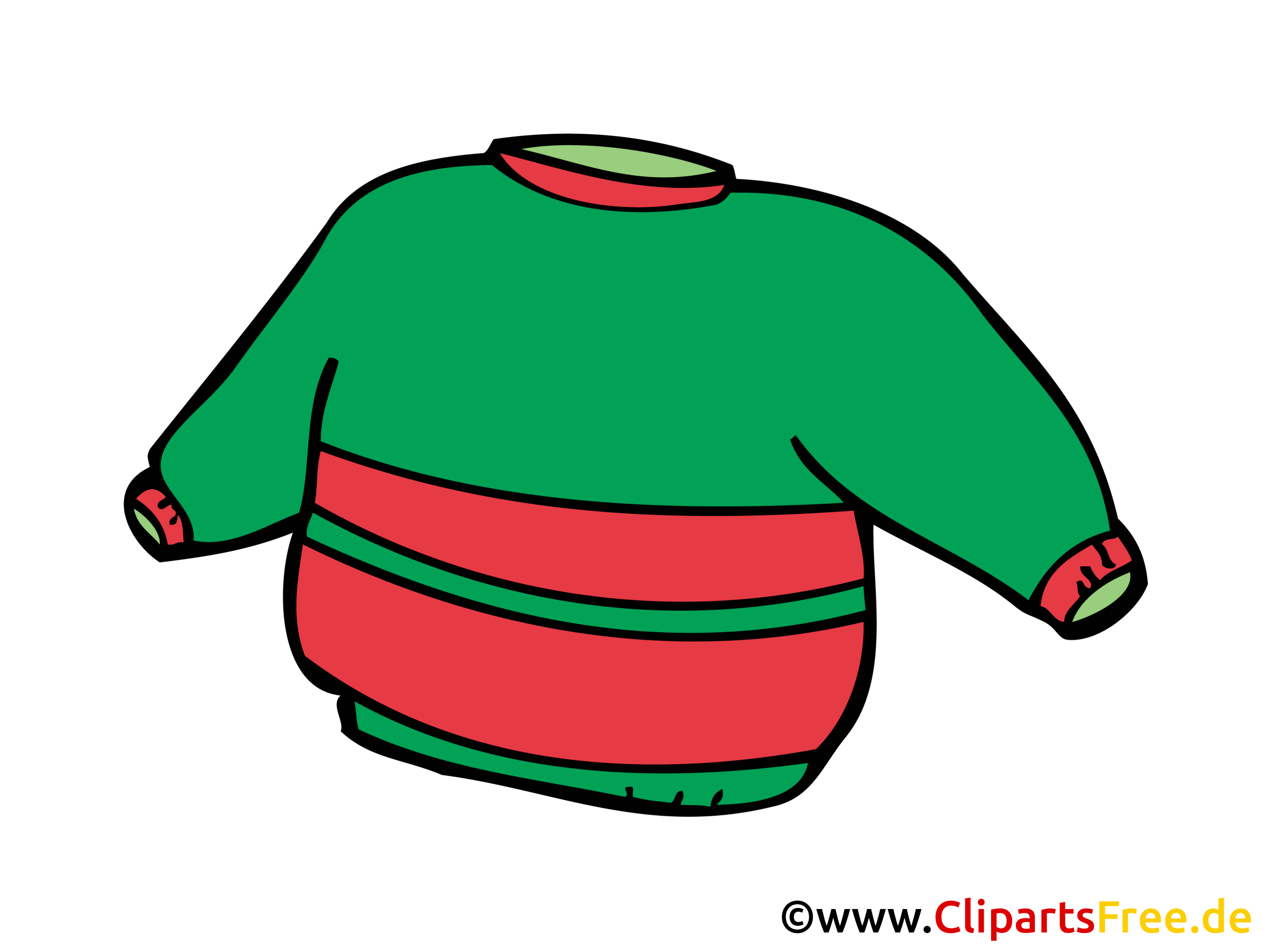 Sweater Bild, Clipart, Zeichnung, Illustration, Comic gratis