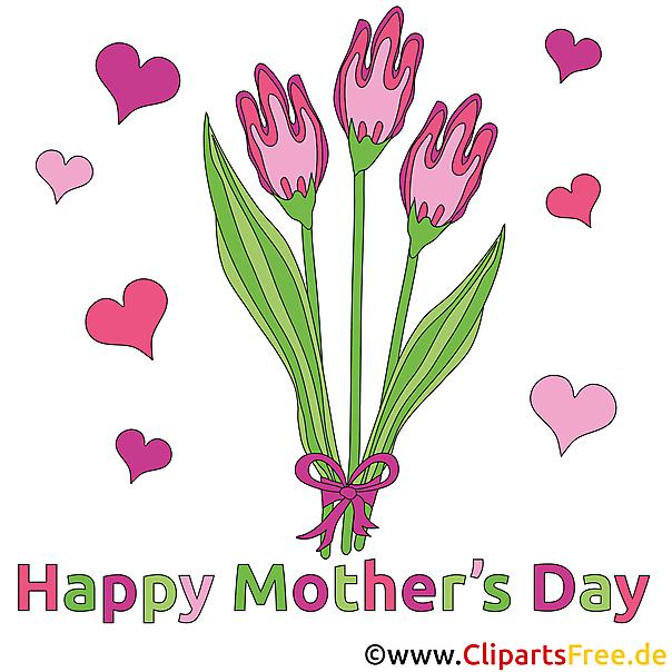 Basteln zum Muttertag mit unseren Bildern