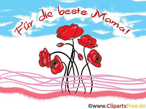 Blumen für Mama zum Muttertag