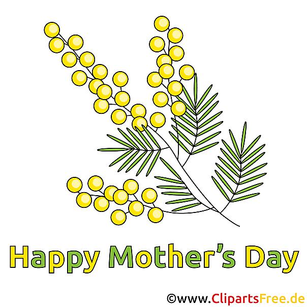Blumen zum Mutterga Clipart