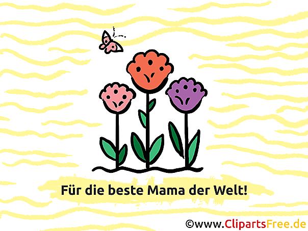 Glückwunschkarten zum Muttertag online
