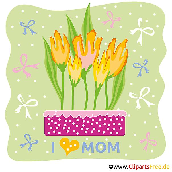 Karten Vorlagen zum Muttertag