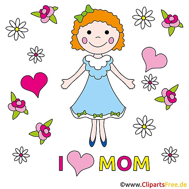 Kostenlose E-Grusskarten zum Muttertag
