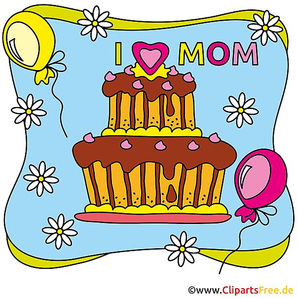 Mother's Day Glückwunschkarte
