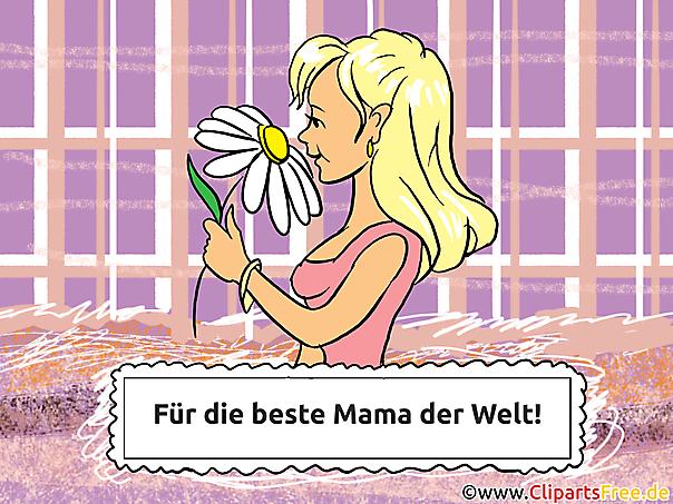 Muttertag Karten zum Drucken und Verschicken