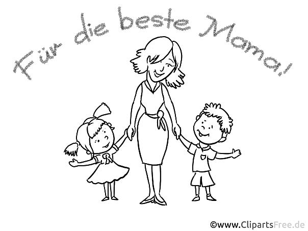 Postkarten selber gestalten zum Muttertag