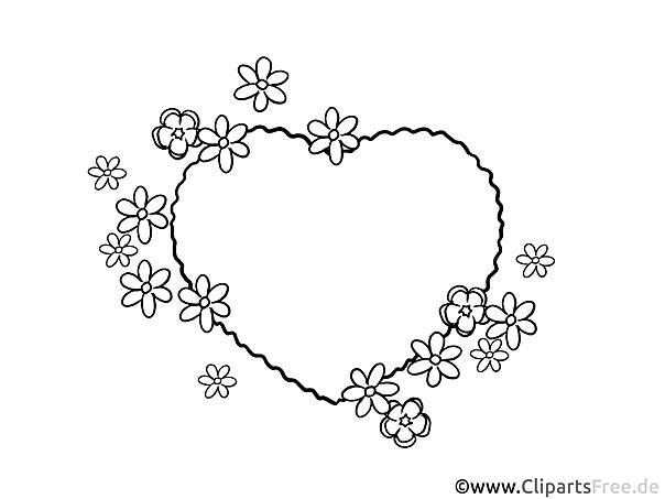 Rahmen Bild Herz