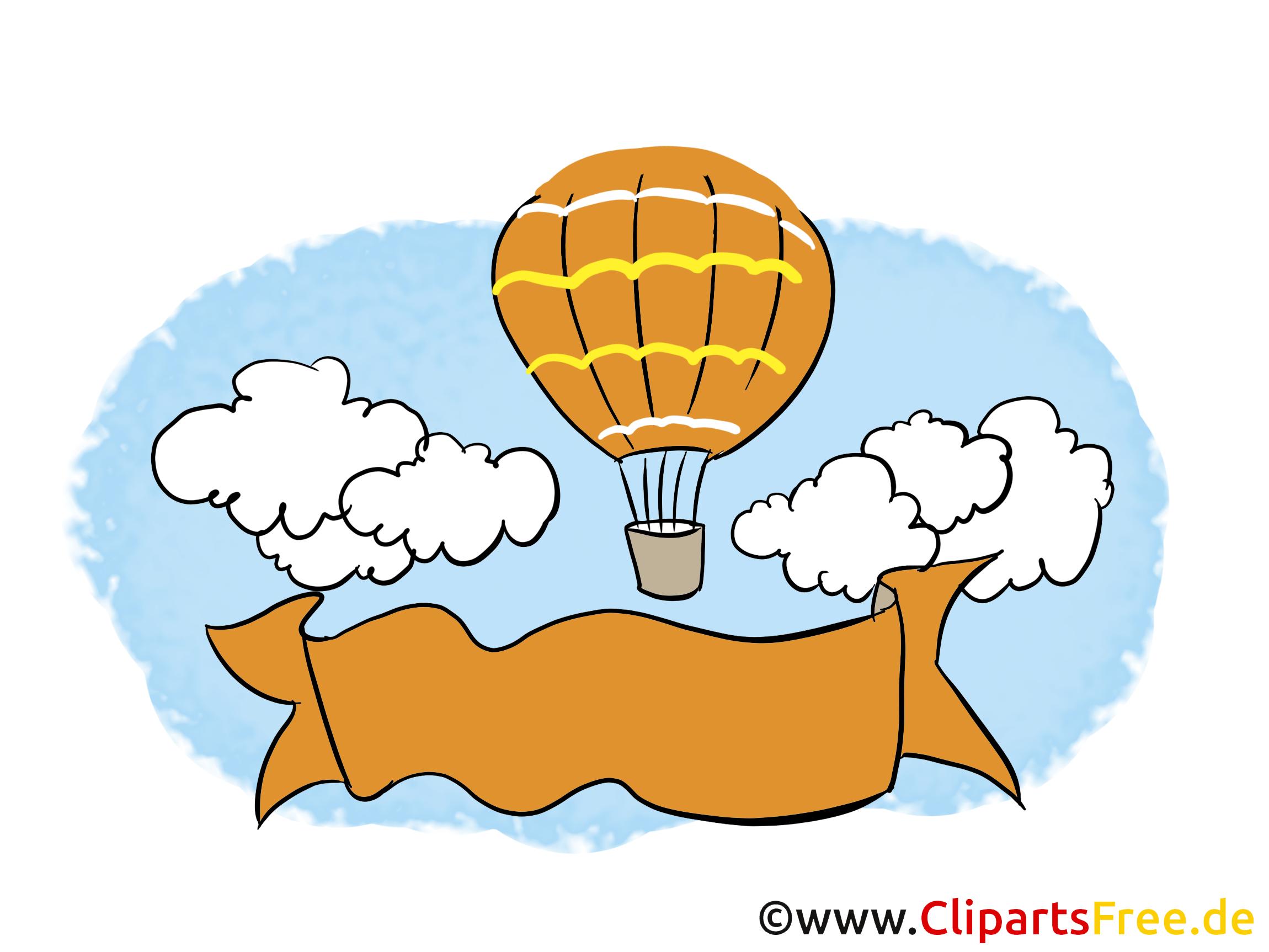 Banner zur Beschriftung Clipart, Bild, Grafik