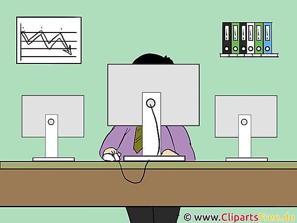 Clipart Grafiken für Büro