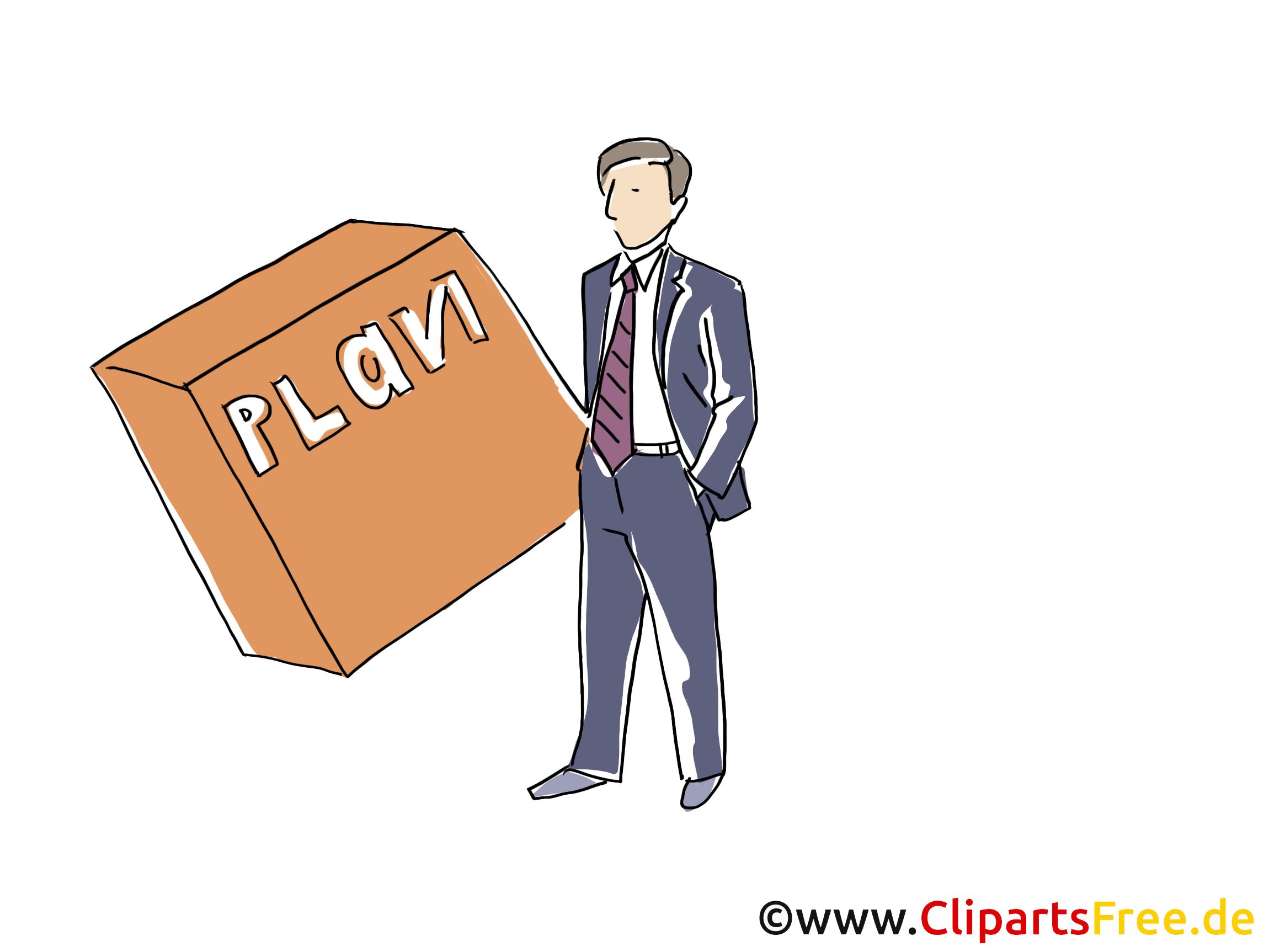 Führungskraft Clipart, Grafik, Bild, Cartoon
