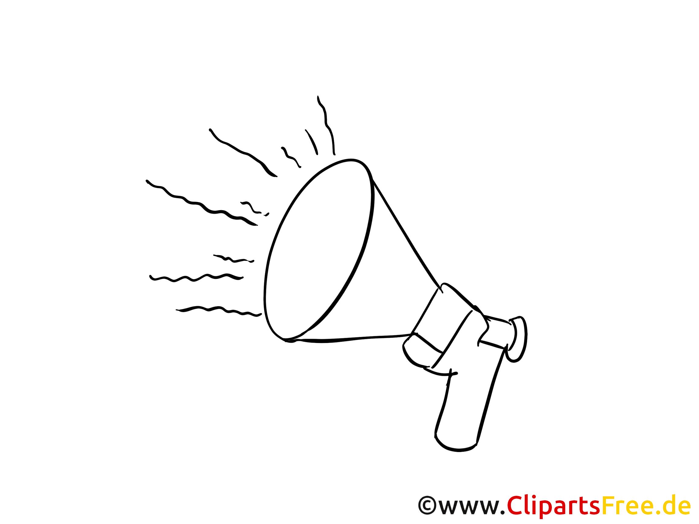 Lautsprecher Clipart, Bild, Zeichnung, Cartoon