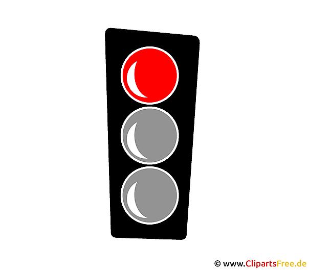Rote Ampel Bild