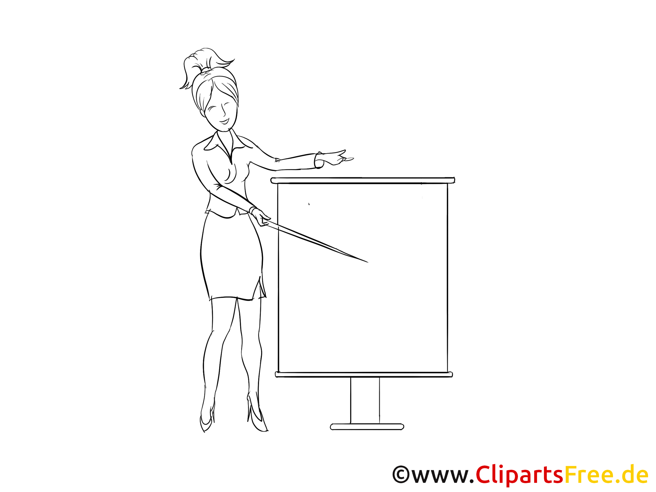 Teacher Clipart, Image, Cartoon