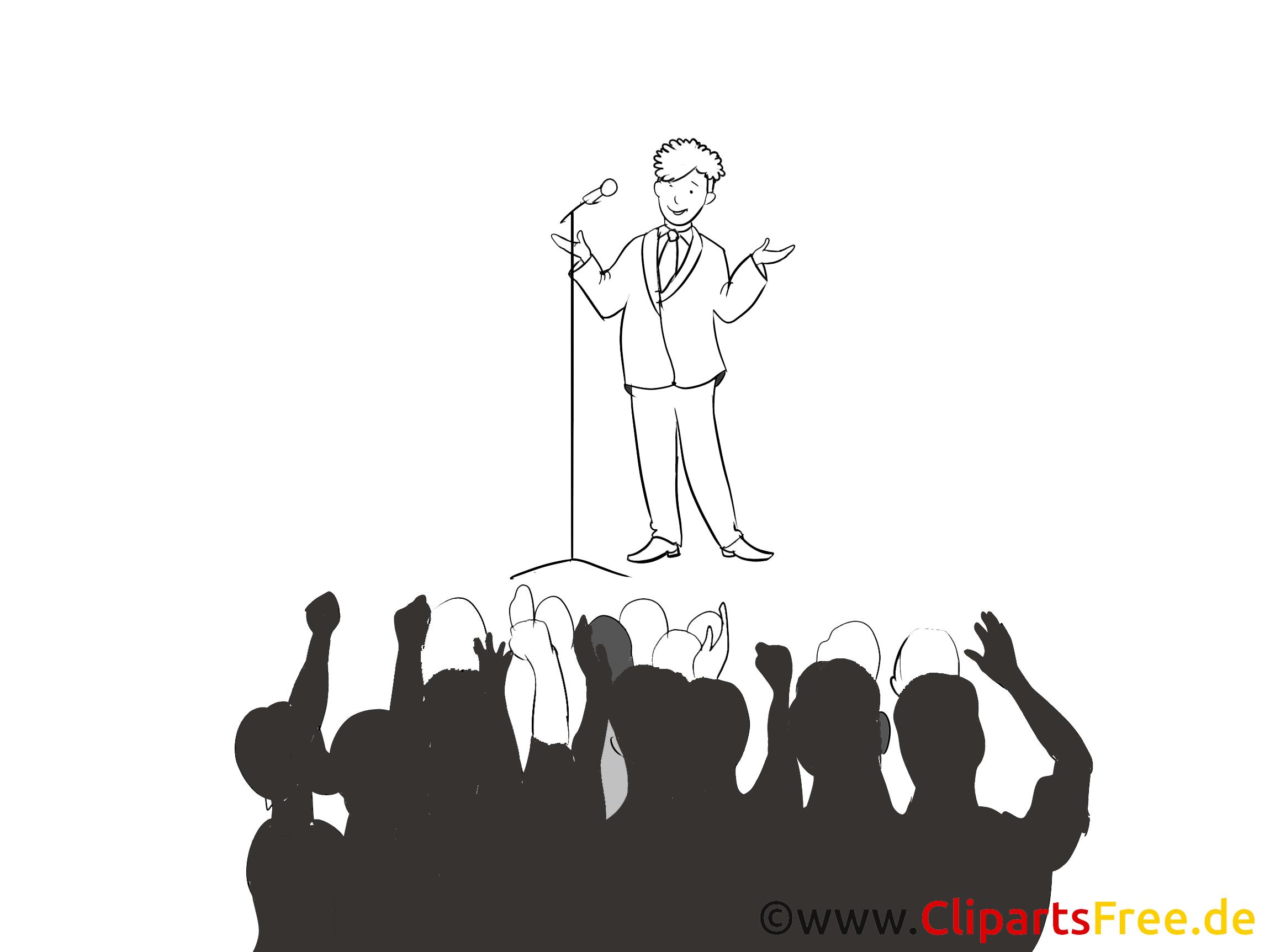 Vorstellung Bild, Clipart, Grafik, Cartoon, Illustration