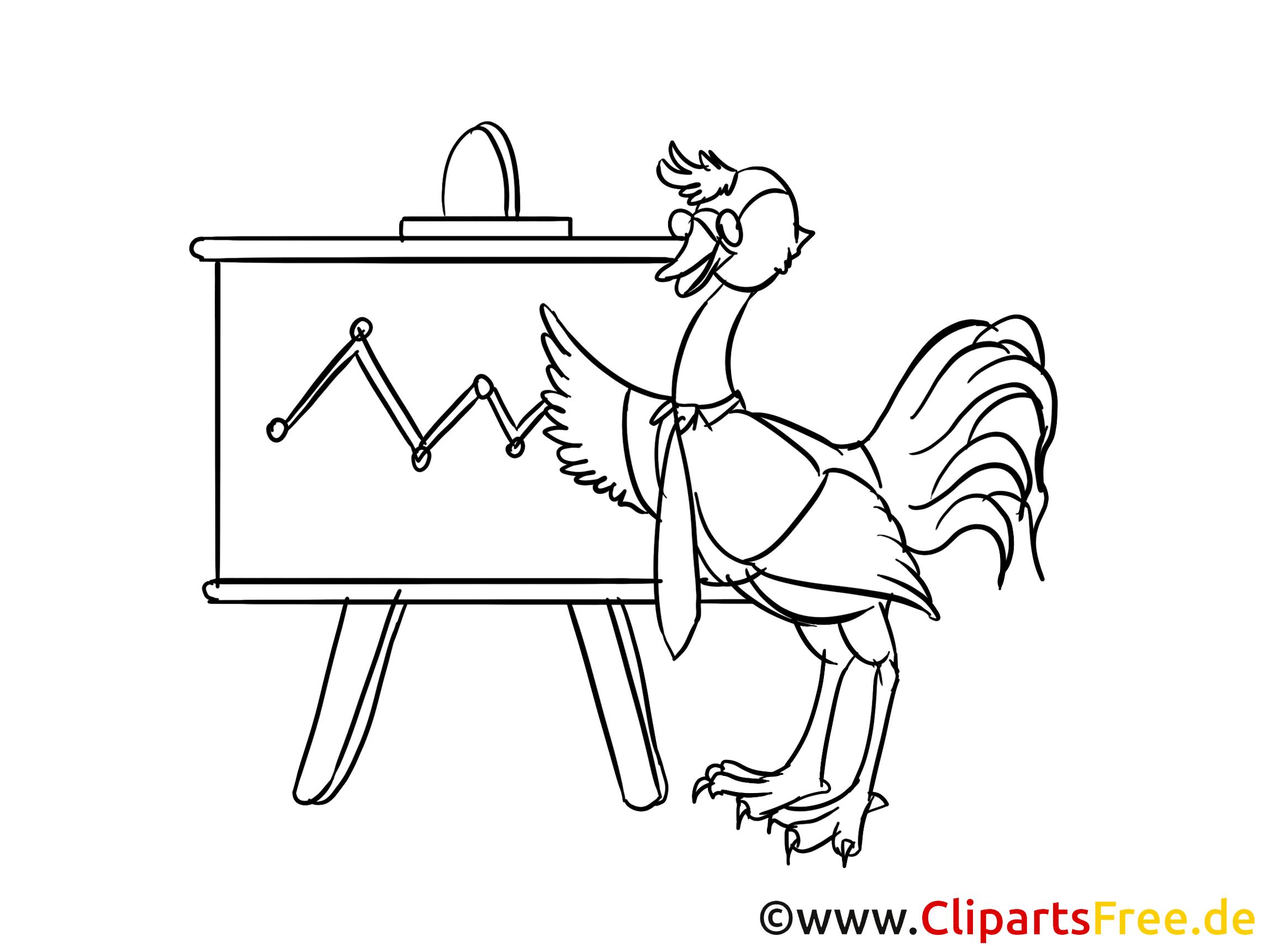Ziel Strategie Clipart, Bild, Zeichnung, Cartoon