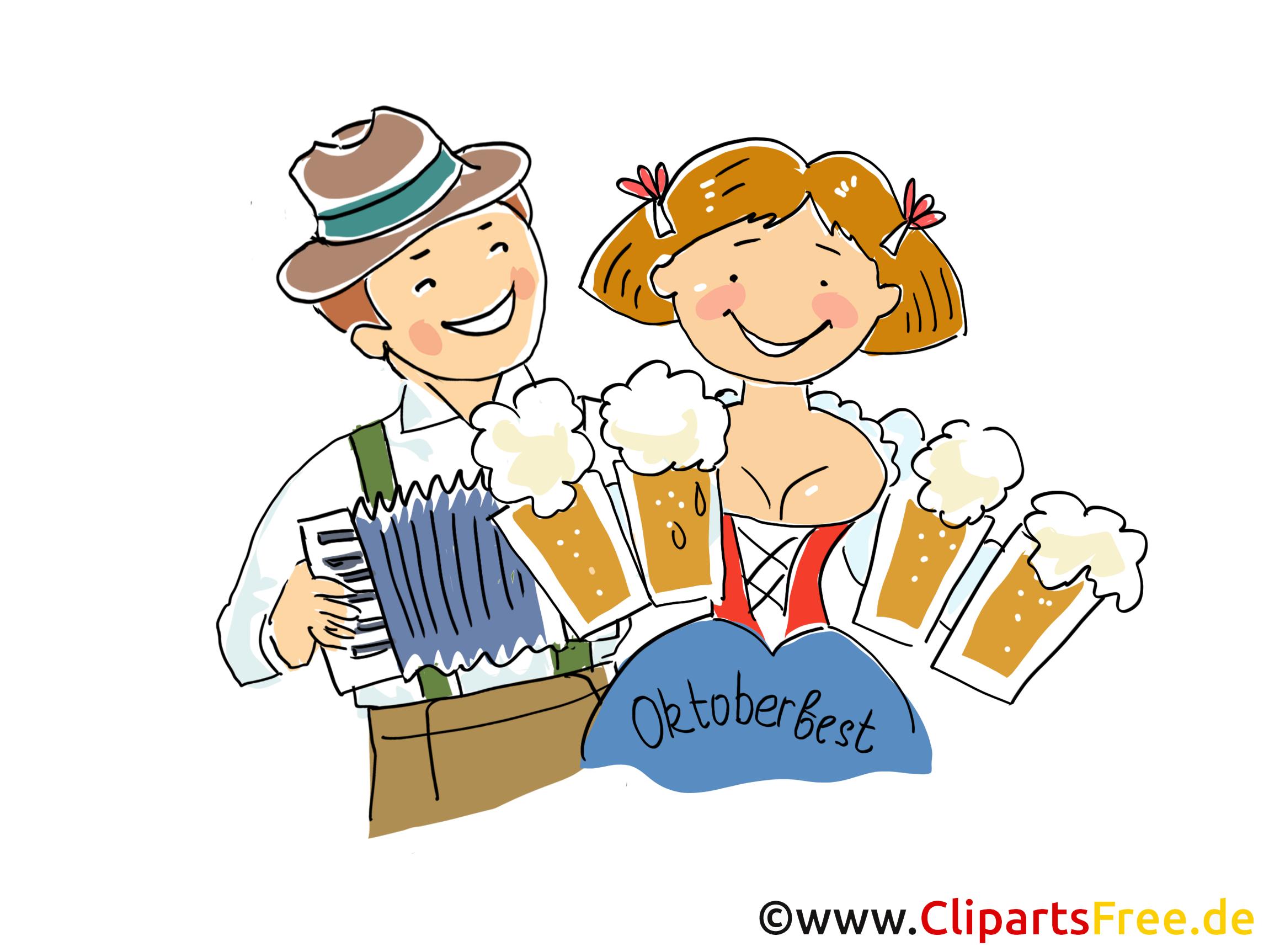 Oktoberfest festivali Clipart, resim, grafik, illüstrasyon, komik, çizgi film ücretsiz