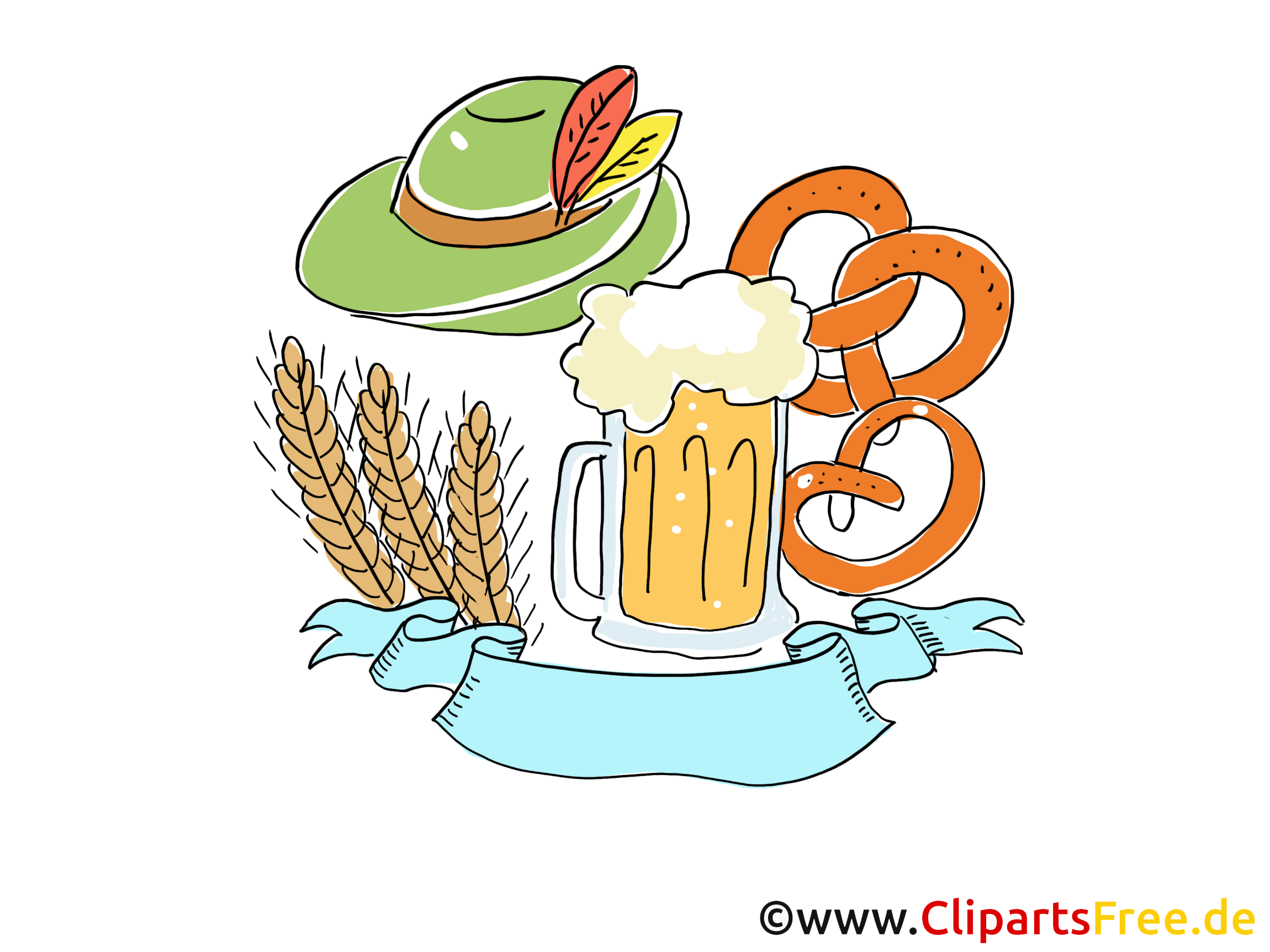 Oktoberfest ilüstrasyonlar, resimler, karikatürler, çizgi roman