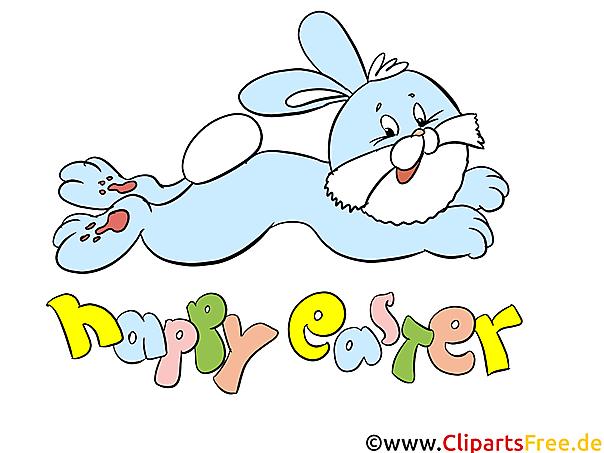 Bilder zu Ostern mit lustigen Osterhasen