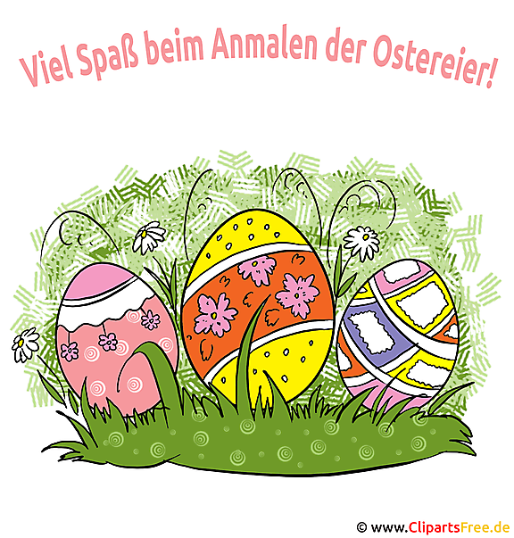 Glückwünsche zu Ostern