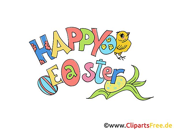 Happy easter clip art gratis