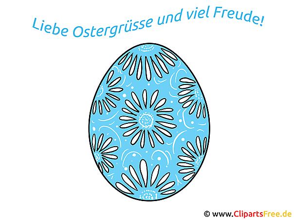 Karten zu Ostern mit Sprüchen