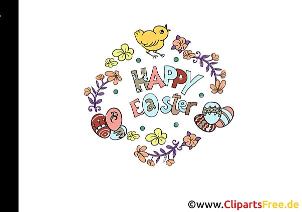 Kostenlose Cliparts zu Ostern gratis